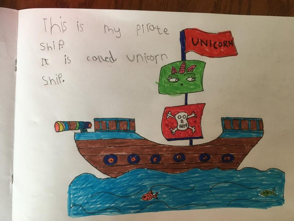 Ayushi's pirate ship