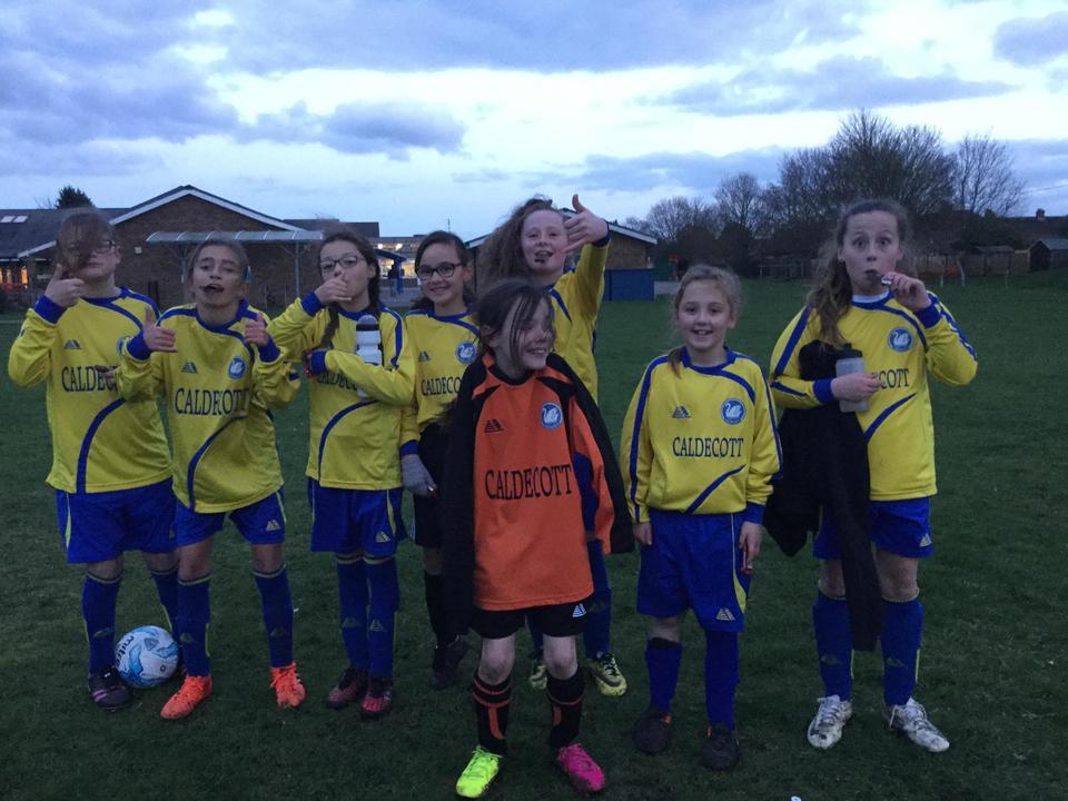 Girls Football League Champions