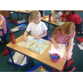Locating oceans and continents