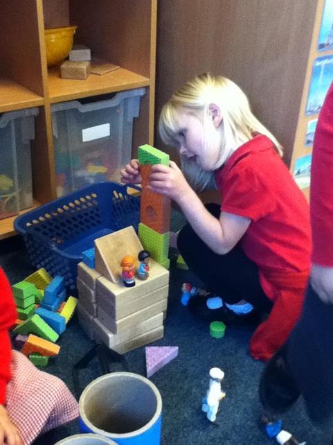 Building a 'school'