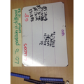 Partitioning numbers in maths