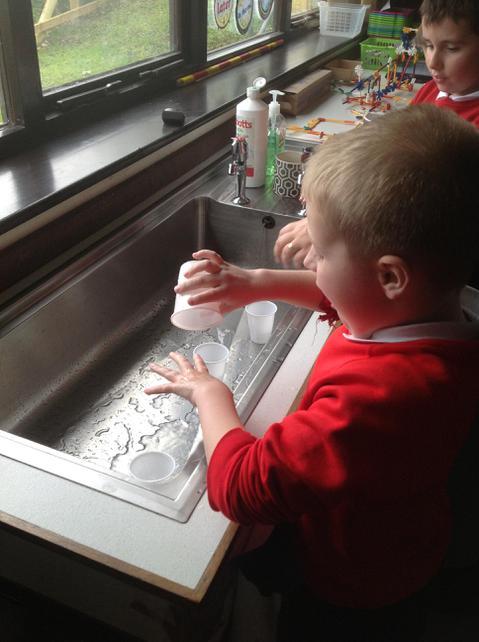 Ritual hand washing