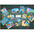 Rock pool collages