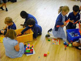 Indoor play at Early Birds