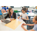 Collaborative spaces now included in the new learning space