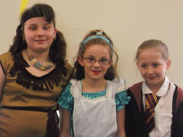 Tiger Lily, Alice and Hermione