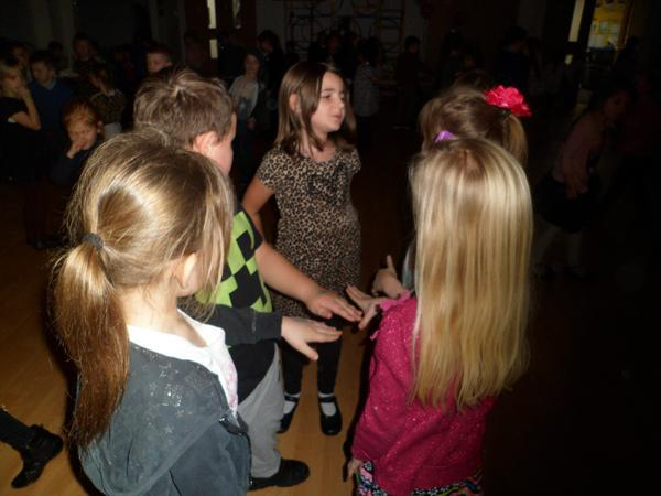 2. Socialising at the Key Stage 1 Valentine Disco