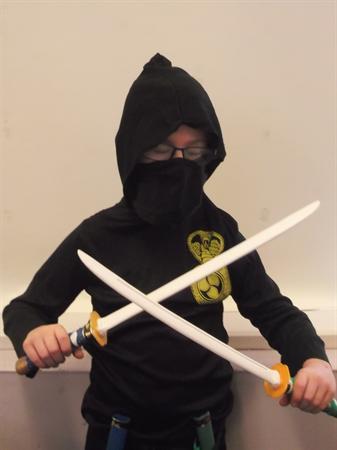 Nathan the Ninja!