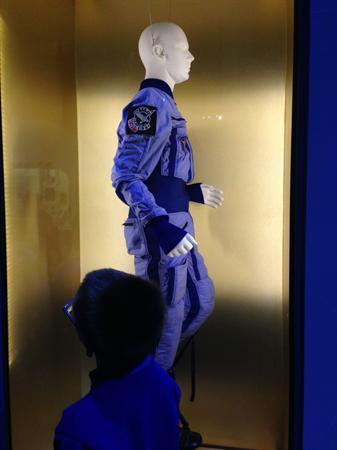 Astronauts' training gear