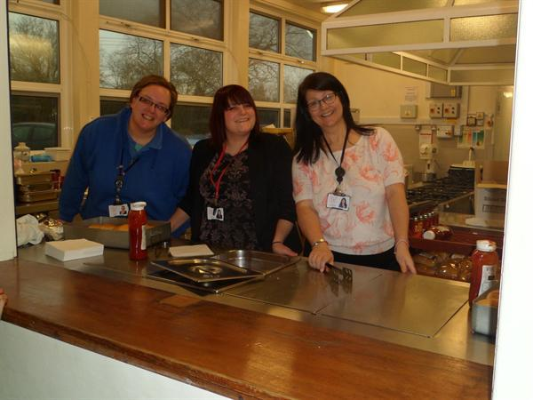 3. Staff volunteers at the KS1 Valentine Disco