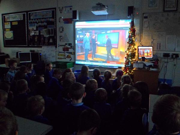 Watching Tim Peake's rocket launch