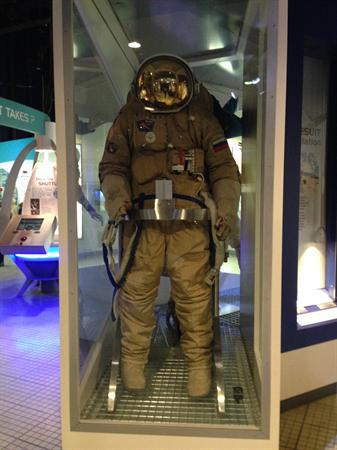 A real spacesuit!