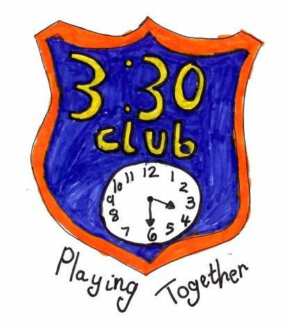 3:30 Club logo and motto