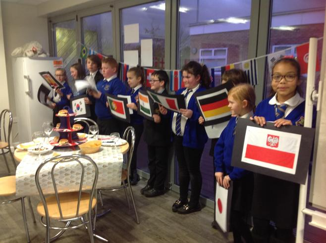 The French club performed for the audience