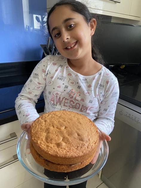 Izzie prepared a ppt of the recipe too!