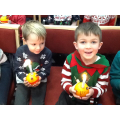 Christingle Service at Cotgrave Methodist Church.
