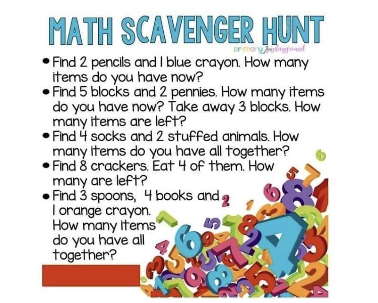 Can you go on a maths hunt?