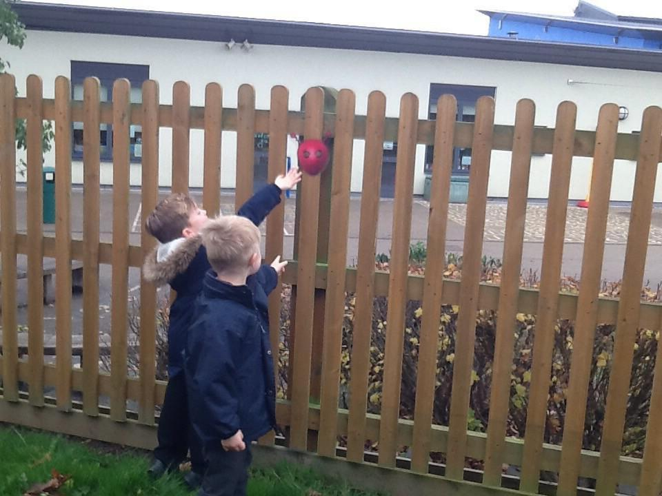 We found aliens in our school grounds!