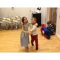 Cinders and Prince Charming waltzing!