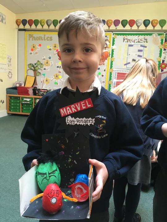 Amazing Avengers egg challenge.