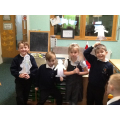 We made our own Guy Fawkes puppets!