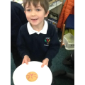We all enjoyed decorating firework biscuits!