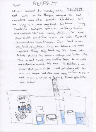 Our School by pupils of Sycamore Class