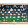 Year 3: Goals and Ambitions display