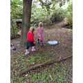 exploring the secret garden!
