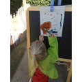 We love painting!