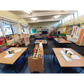 Wide Angle Photograph of a Reception Classroom