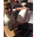 Harri and his Egyptian Maths.