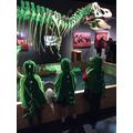 Three little dinosaurs