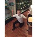 Harri's 1 Million pose!