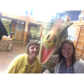 Mrs Nelmes and Mrs Ross meet Spike!