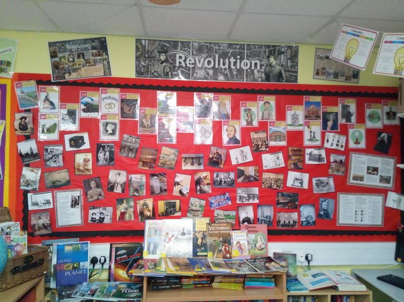 Topic display - Revolution