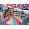 Choose a book from our class reading area.
