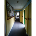 Place your coat and PE kit on your peg in the corridor.