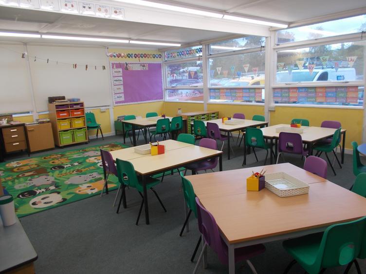 Squirrels classroom with Miss Gargett