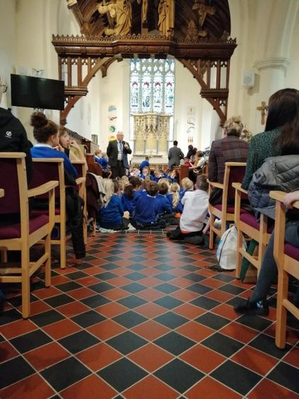 Our Harvest Service at St Mary's Church