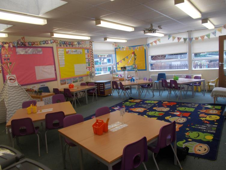 Fawns classroom with Miss Ray