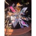 Newspaper Flower - Reception