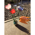 Recycled Plastic Flowers - Year 2
