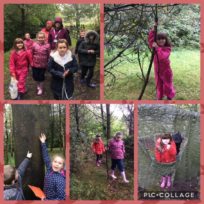 Fun in the woods.