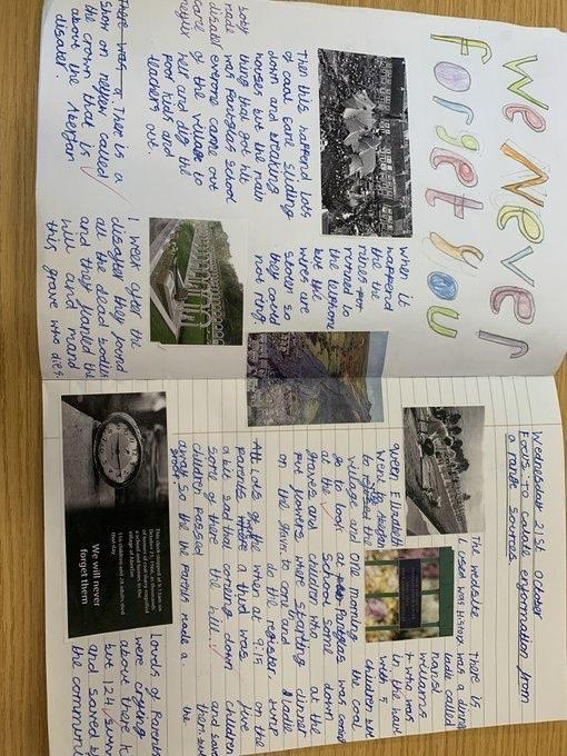 Aberfan Disaster Double Page Spreads!