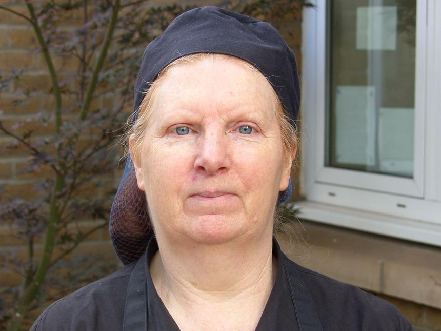 Mrs Cummings Catering Assistant