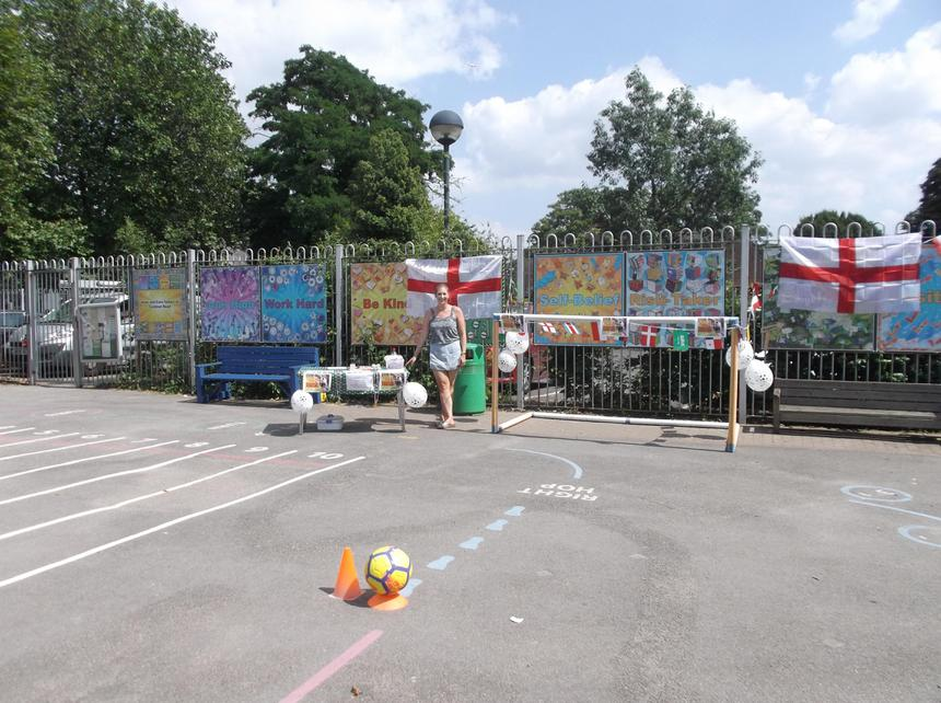 The penalty shootout is ready; come on England!