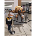 Joseph on his 'Intu - Bugs on Tour' hunt.
