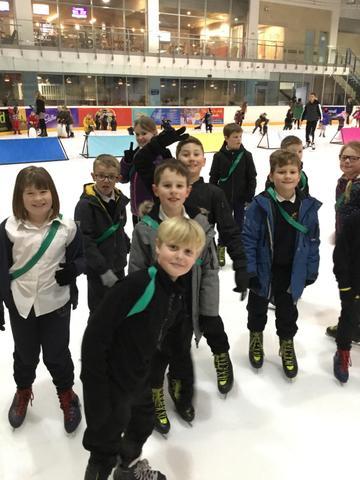 Year 4 ice-skating lessons - Jan 2019