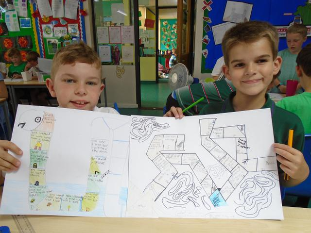 Yr 3 - Making an Eco Snakes and Ladders Game